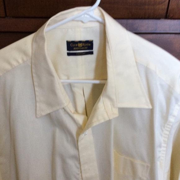 Club Room Other - Club Room 18/35 soft Yellow dress shirt